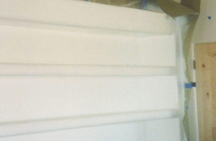 Shelving Plaster In Progress